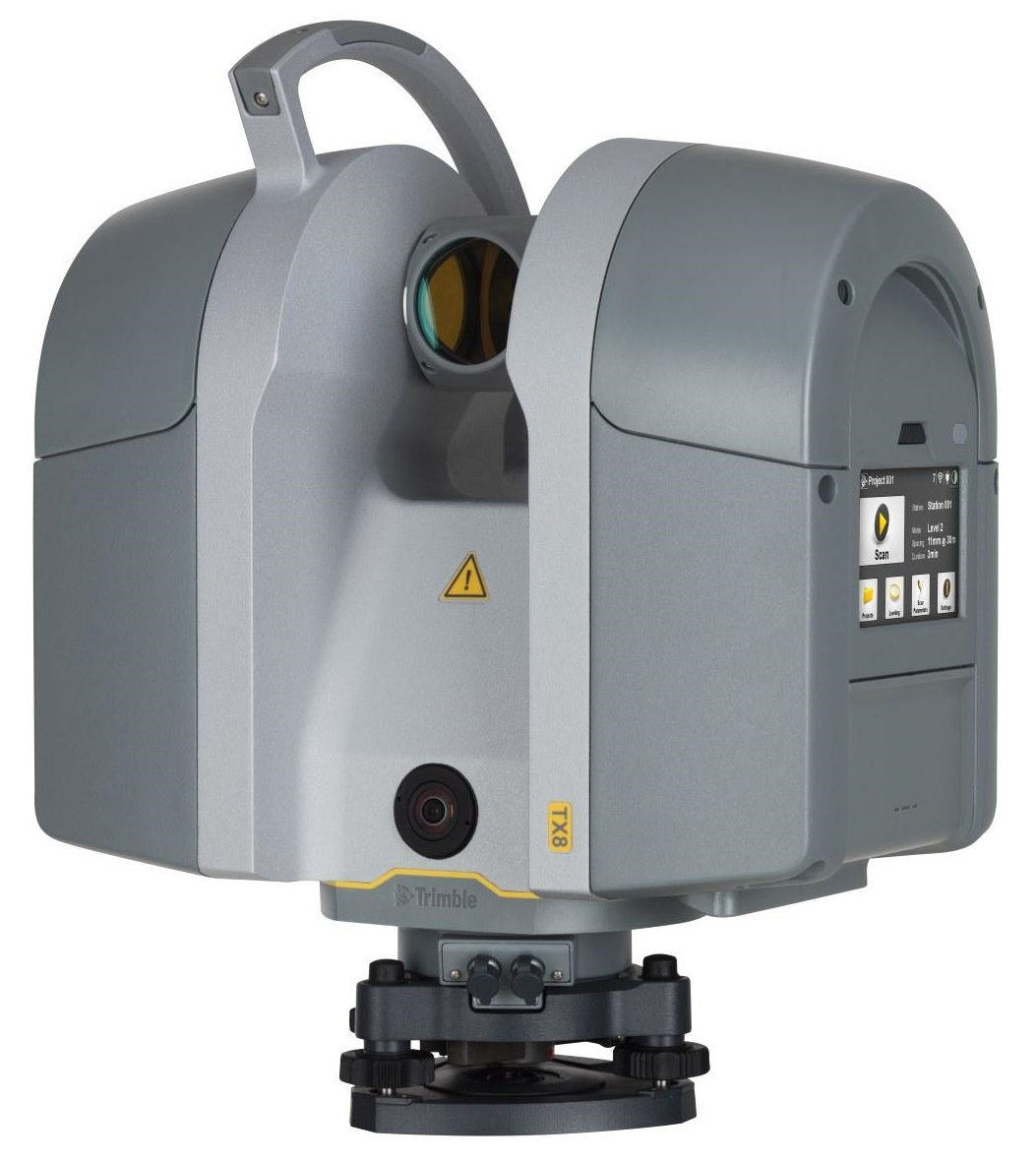 лазерный сканер trimble tx8